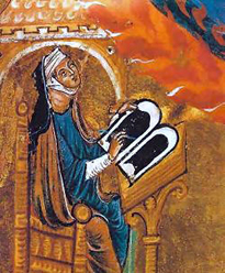 Saint Hildegard of Bingen.